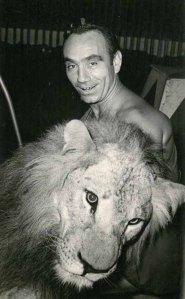 Amedeo Gerardi, che collaborò con il circo Medrano durante il secondo dopoguerra.
